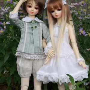 新しいお人形のお洋服とウイッグがほしい