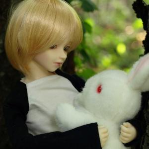 美少年のお人形の魅力