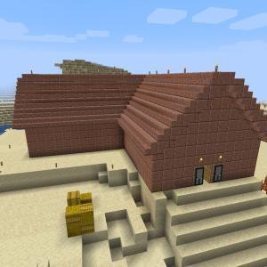 やっと家と畑が完成