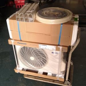 自宅のエアコンが壊れた・・・