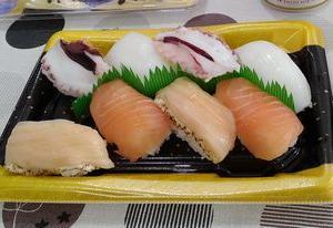 コロナでも、ごはん① ⇒ イオンでお寿司