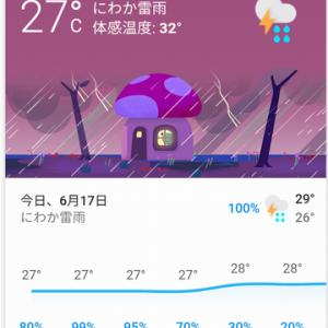 天気予報が、おもしろい