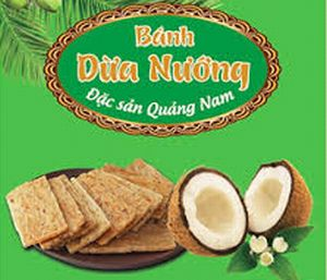 【料理名B】⑫ Bánh dừa nướng