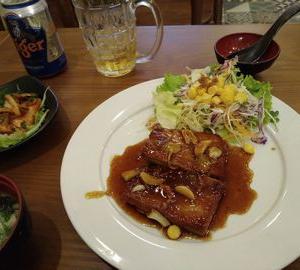 【魚定食】 ⑧MIYA寿司 辛いマグロ焼き定食