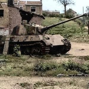 カラー多数! WW2 ドイツ戦車写真集