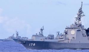 グアム沖で行われた日米豪韓共同訓練パシフィックヴァンガード20