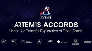 月に向かう多国籍チーム アルテミス合意に正式署名