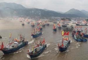 ☆良漁場の大和堆に中国船が殺到中 一方 日米印豪の四ヶ国艦 マラバールに集結