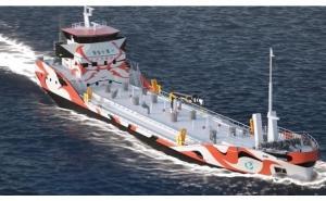 カワサキ 世界初となるバッテリー推進タンカー