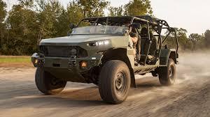 ハンビーの後継となる新型ISV/歩兵分隊車両