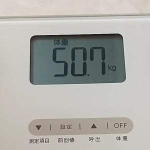 ☆9月14日☆朝の体重測定♪