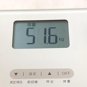 ☆9月16日☆朝の体重測定♪