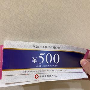 東京ドームの優待でリンツのチョコレート買いました