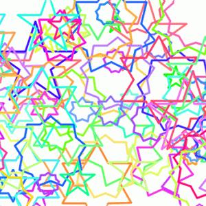 ペンタグラム、ヘキサグラムなど多角形を描いてみる