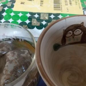 松の葉茶比べ。