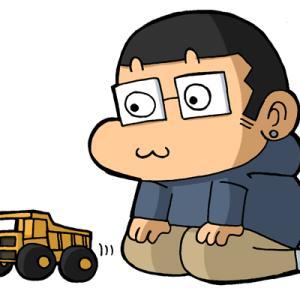 タミヤの「マンモスダンプ」のタイヤが太くてスゴイの♥