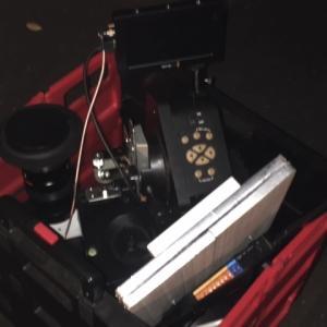 高感度SDI防犯カメラEAAシステム諸々チェック