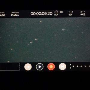 高感度SDI防犯カメラの感度・画質チェック(好感触)