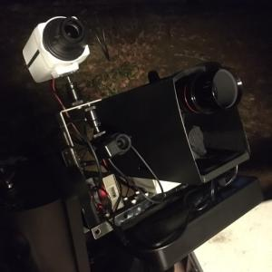 天体カメラEAAと防犯カメラEAAの比較観望