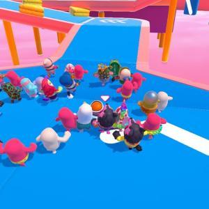 今人気のsteamで遊べる風雲たけし城風オンラインマルチパーティーゲーム『Fall Guys』(フォールガイズ)