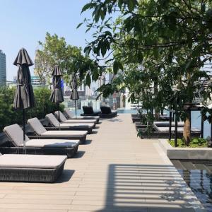 バンコクの新しいホテル Sindhorn Midtown(シンドーンミッドタウン)宿泊記~プール&ジム(3)