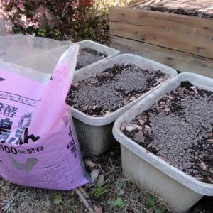 家庭菜園 土準備 残作業