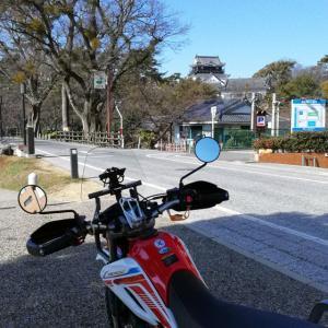 バイク初乗り 愛知県岡崎ツーリング