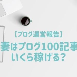 【ブログ運営報告】駐妻ブログ100記事達成!8ヶ月間の収益まとめ
