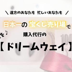 宝くじ売り場日本一で代行購入してもらう!「ドリームウェイ」!