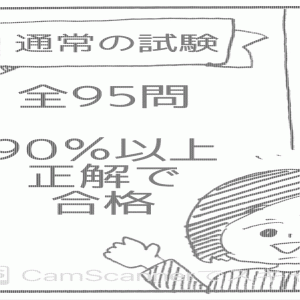 (486) 外免切替の筆記試験