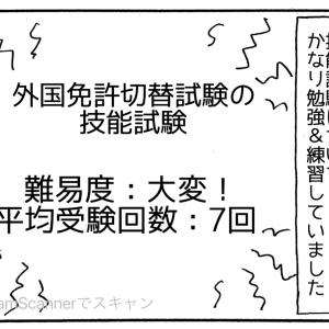 (493) 外免切替技能試験の練習方法