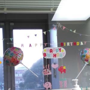 一つ目の誕生日でした