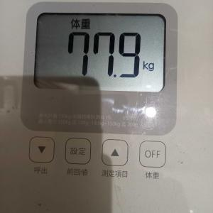 9月7日 体重と歩数記録