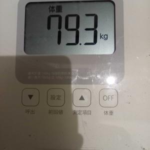 9月11日 体重の記録