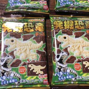 キャラパキ 発掘恐竜  息子たちのお気に入りのお菓子です(*´∀`*)