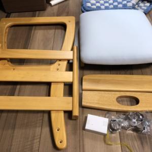子供部屋に勉強机を設置したい!yahooで購入した椅子を組み立てました♪