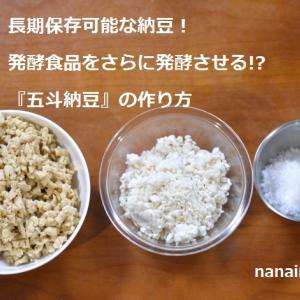 長期保存可能な納豆!発酵食品をさらに発酵させる!?『五斗納豆』の作り方、東京の発酵ワークショップnanairo!のレシピ