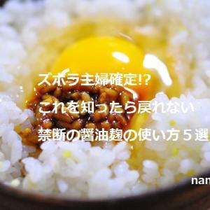 醤油麹の使い方