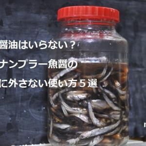 もう醤油はいらない?和製ナンプラー魚醤の絶対に外さない使い方5選