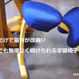 座るだけで猫背が改善!?子供でも無理なく続けられる学習椅子って?