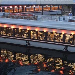 屋形船  「閻浮堤」とは違って風情ありますよ