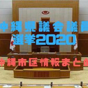 【2020沖縄県議会議員選挙:沖縄市区】立候補予定者は?投票日、投票場は?選挙情報をお知らせします!