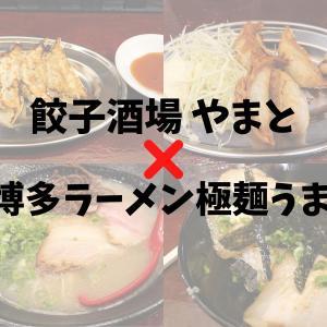 【餃子酒場やまと×博多ラーメン極麺うまか】おいしいお酒と餃子!シメのラーメンまで楽しめるスポット♪
