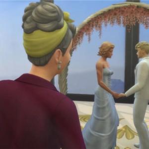 7世代目シムの婚約&結婚式!