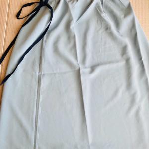 リバーシブルストレッチロングスカートの着用感想と実物ディテール徹底的にレポート💖