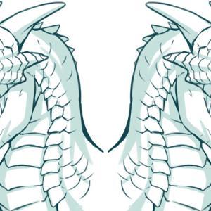【イラスト講座】実際の動物を参考にしてドラゴンの牙を描く