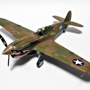 P-40E製作その⑤・完成。