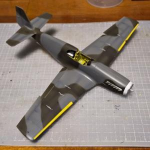 大戦機祭り・機体の塗装です。