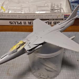 AV-8B+製作。塗装の下準備まで。