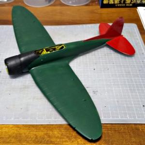 九九艦爆・機体色を塗装してみました。